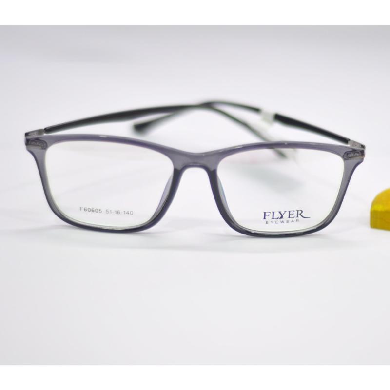 Giá bán Gọng kính cận thời trang FLYER (Xám tím trong)