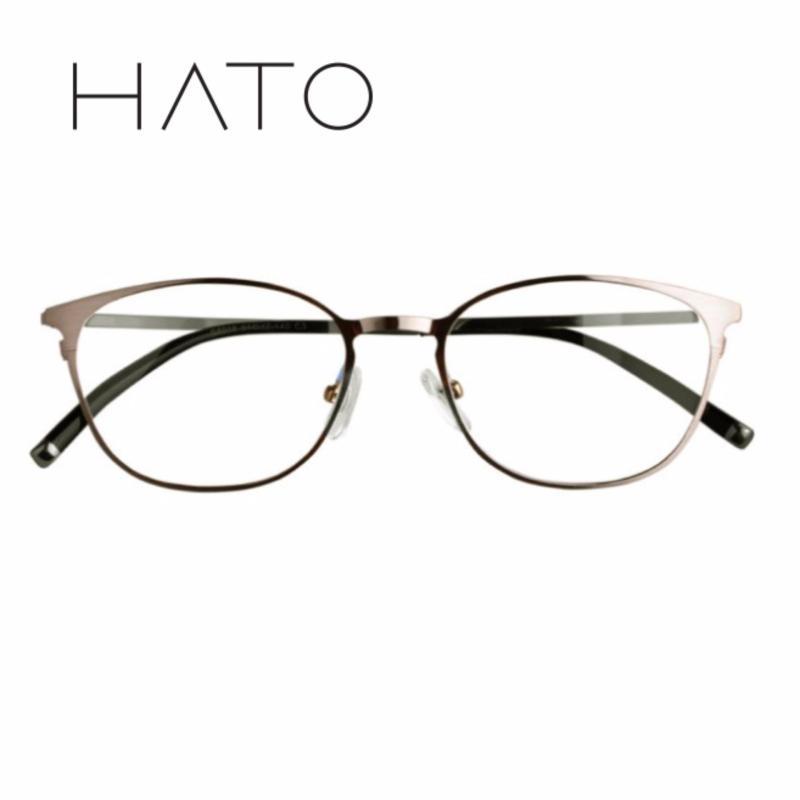 Giá bán Gọng Kính Cận Titan HATO G6018 ( Bạc )