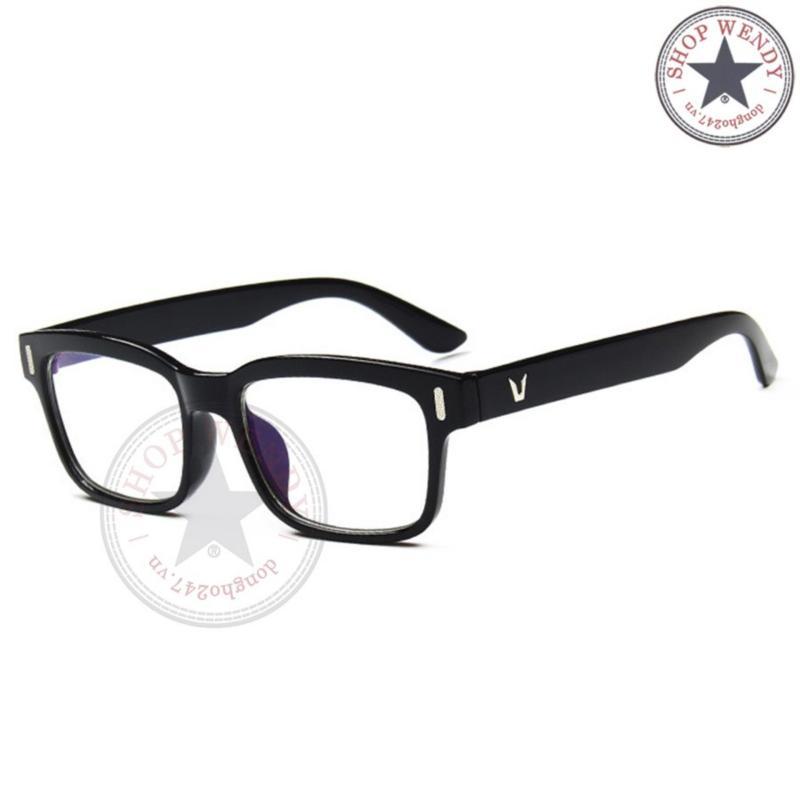 Mua Gọng kính cận unisex K201 (Đen)