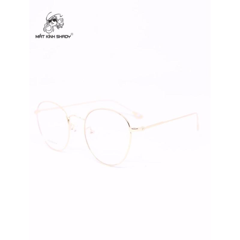 Giá bán Gọng kính cao cấp thời trang unisex shady - G590 (Vàng )