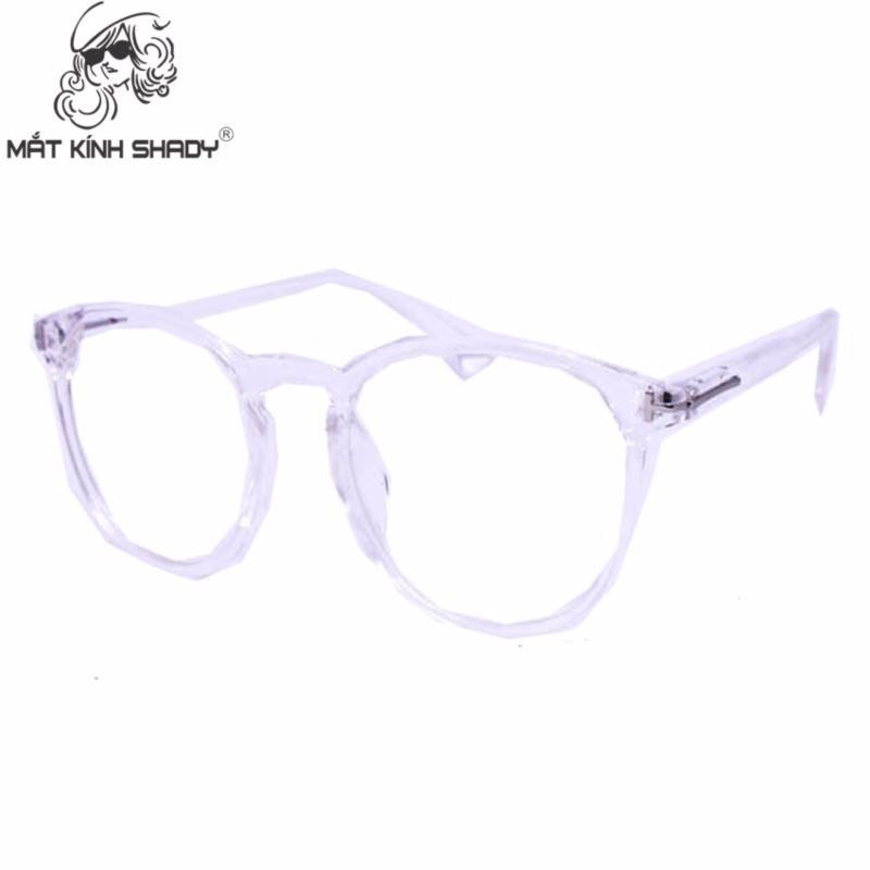 Giá bán Gọng kính cao cấp thời trang unisex shady - G621 (Trắng trong )