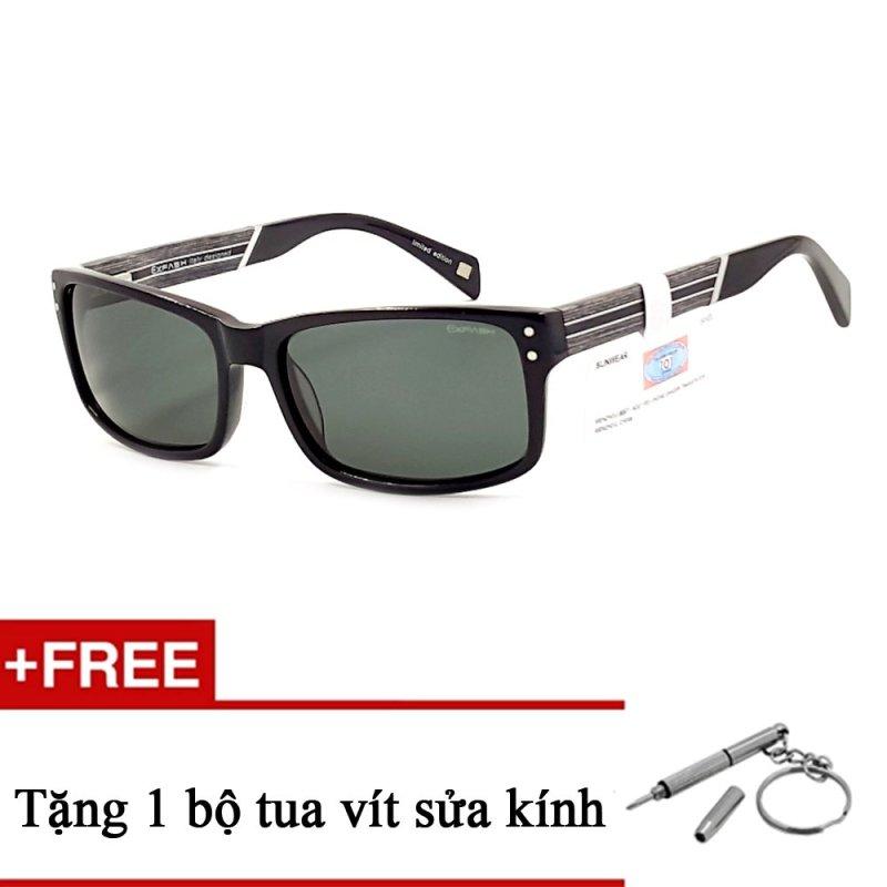 Giá bán Kính mát nam Exfash EF1011A 908C + Tặng 1 bộ tua vít sửa kính