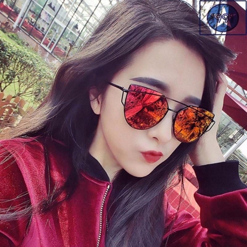 Mua Kính mát nữ mắt mèo Sino red