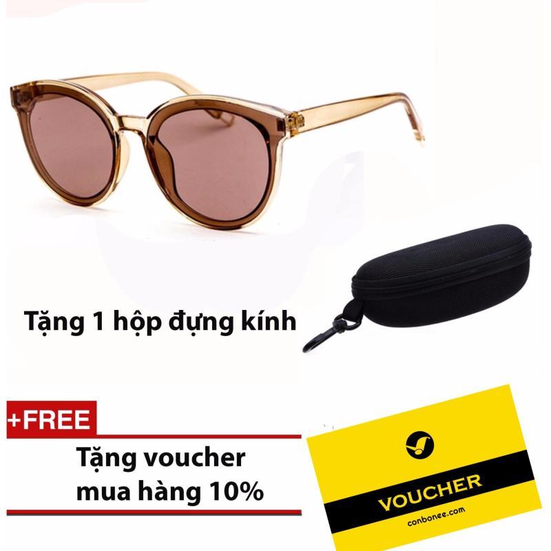 Mua Kính mắt nữ thời trang HTBX ( Đen) & Tặng Voucher mua hàng