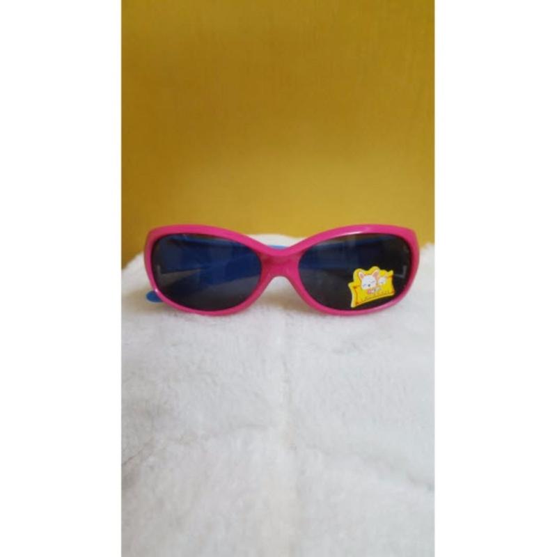 Giá bán Kính mát trẻ em chống nắng cao cấp (Hồng xanh dương) GC-0001