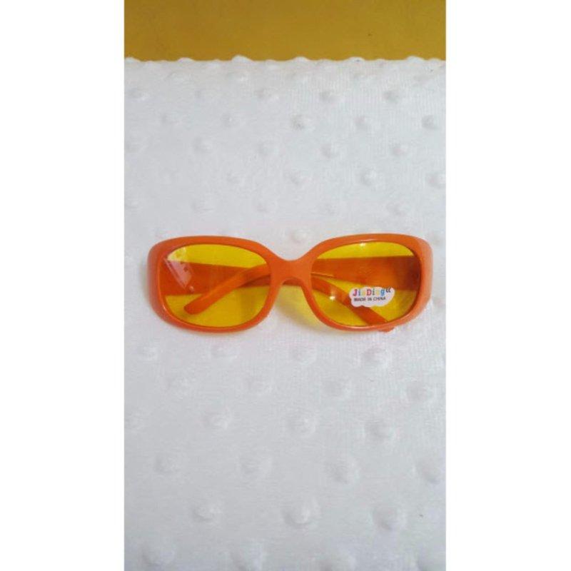 Giá bán Kính mát trẻ em chống nắng cao cấp mắt vuông (Cam)