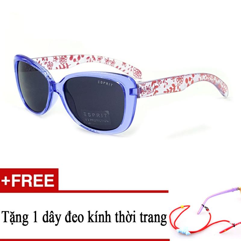 Giá bán Kính mát trẻ em ESPRIT ET19732 543 (Xanh) + Tặng kèm 1 dây đeo kính trẻ em