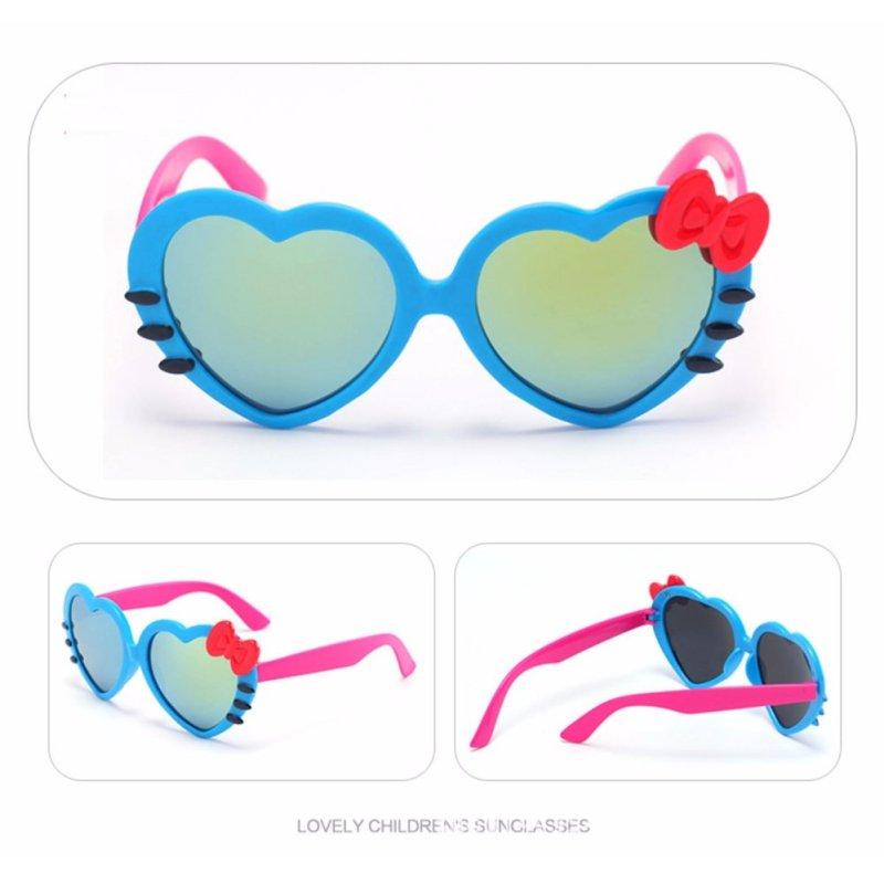 Mua Kính râm chống tia UV hình trái tim cực yêu cho bé (màu xanh dương) MLS.1002