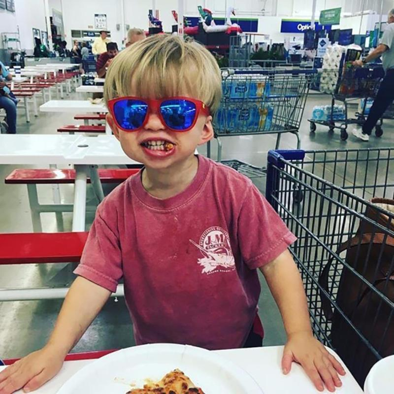 Giá bán Kính trẻ em Knockaround Frosted Bright Red Moonshine Kids (Đỏ)