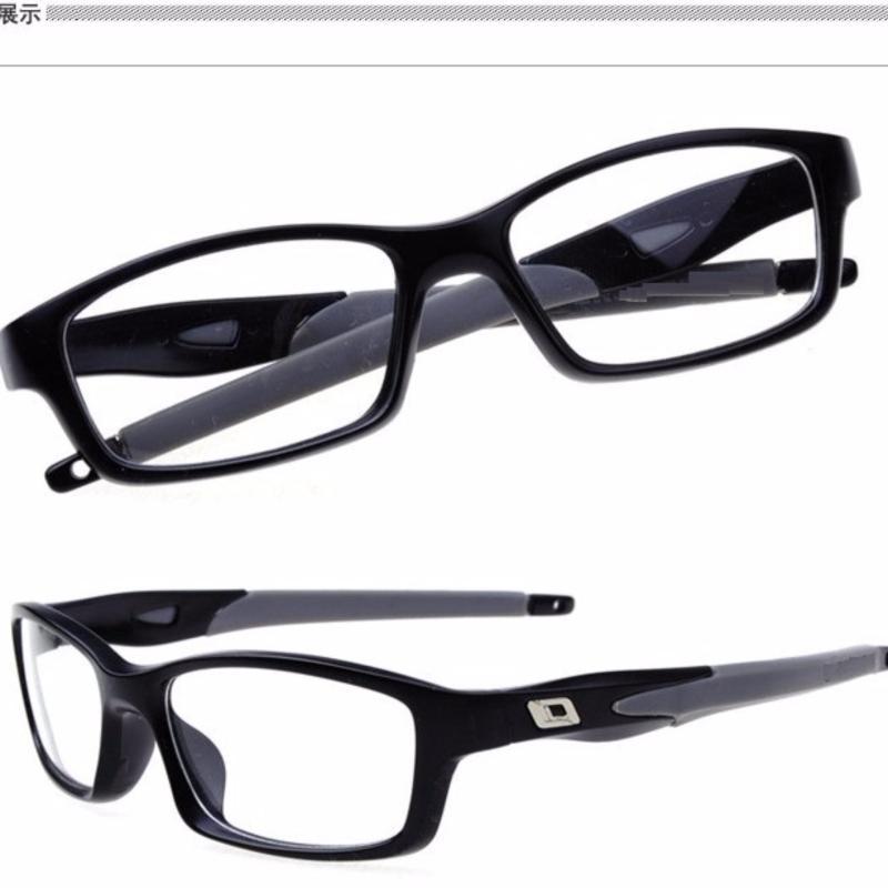 Giá bán Mắt kính nam gọng vuông dẻo giả cận công sở+Tặng bao da H182(Đen)