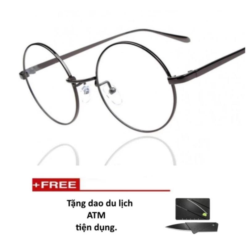 Mua Mắt kính ngố gọng cậnkhông độ Nobita cao cấp (tặng dao thẻ atm)