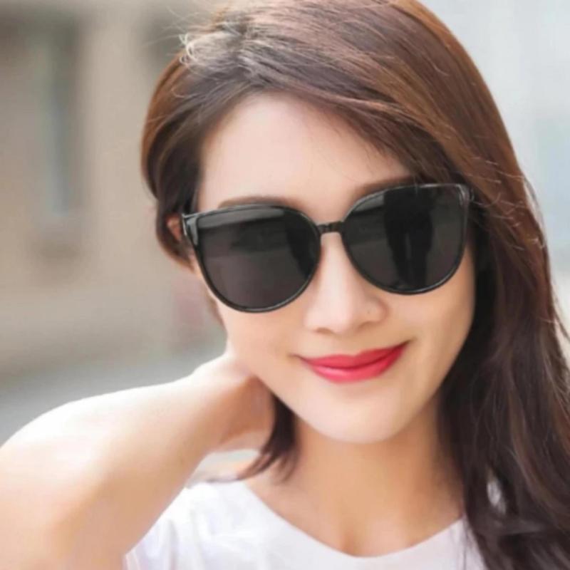 Mua Mắt Kính Thời Trang Nữ hongkong Quyến Rũ mới (Đen)