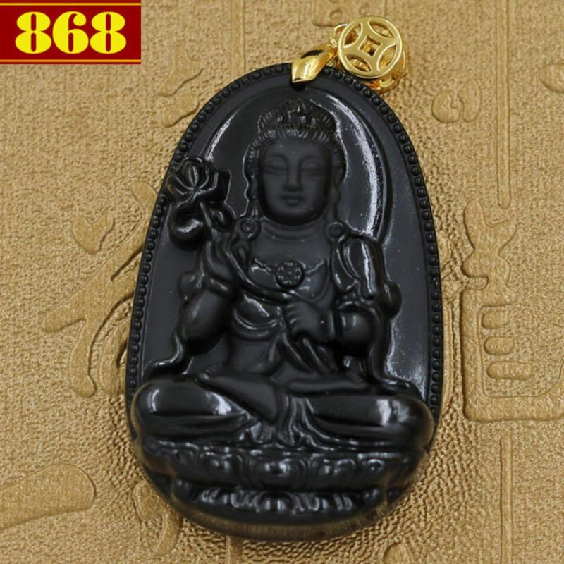 Mặt Phật Đại Thế Chí Bồ Tát 5 cm + móc dây chuyền