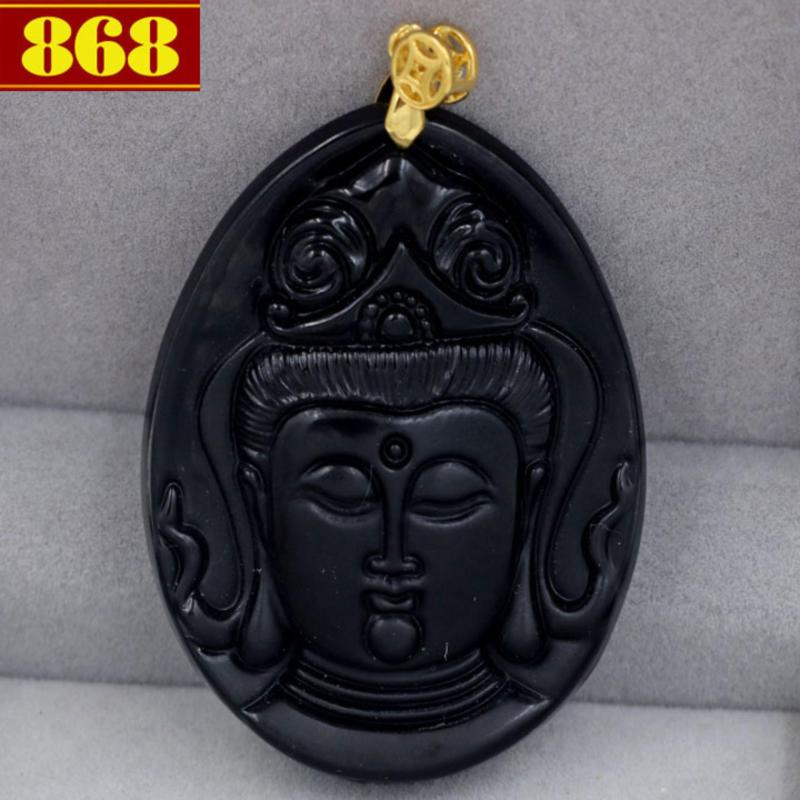 Mặt Phật Quan âm bồ tát QA5 + móc dây chuyền