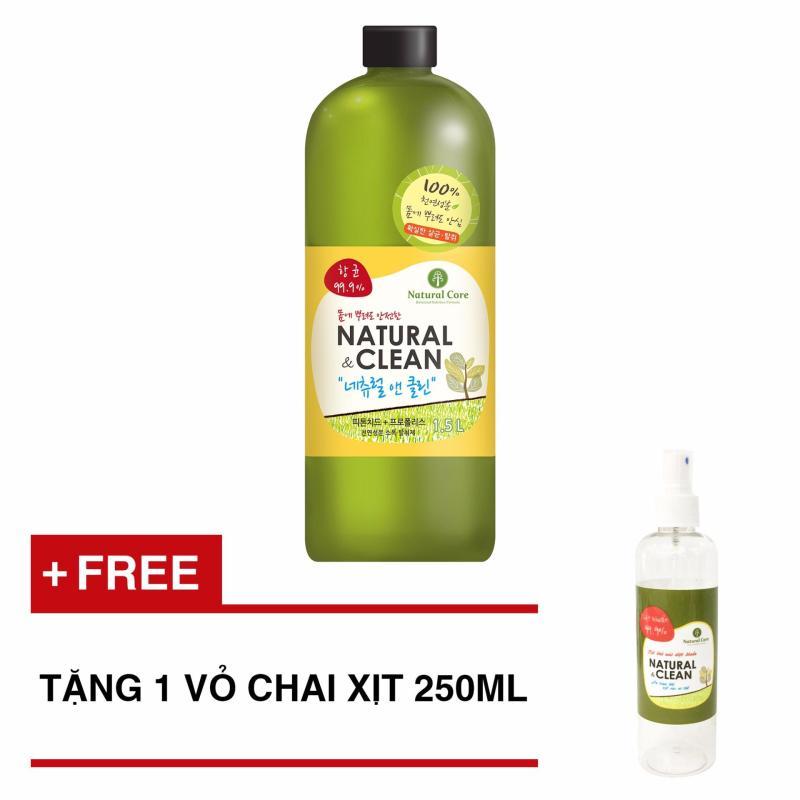 Mua Xịt khử mùi diệt khuẩn Natural Clean 1500ml