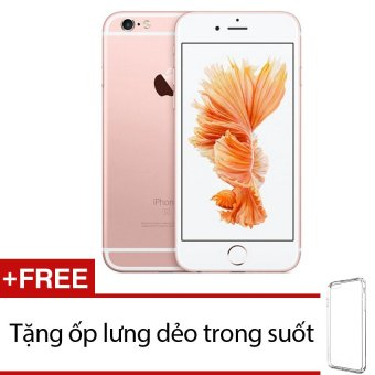 Apple iPhone 6s 64GB (Vàng hồng) + Tặng 1 ốp lưng dẻo trong suốt-Hàng Nhập Khẩu