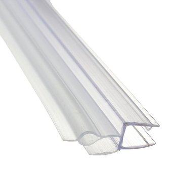 Bath Shower Screen Seal Strip 4 6mm Curved Flat Glass Bath