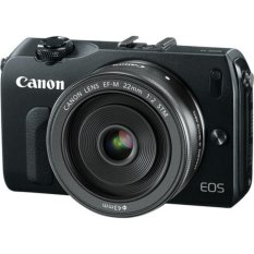 Canon EOS M 18.1MP với Len kit EF-M 22mm F2 STM (Đen)