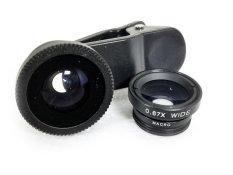 Lens chụp ảnh 3 trong 1 cho điện thoại Hongkong electronics (Đen)
