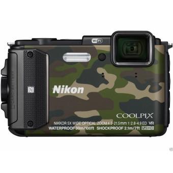 Máy ảnh KTS NIKON COOLPIX W30016MP và Zoom quang 5x (Vàng)