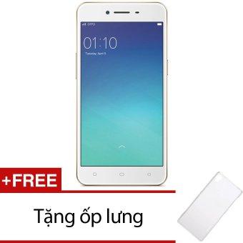 Oppo A37 16GB 2 Sim (Vàng) + Tặng 1 ốp lưng