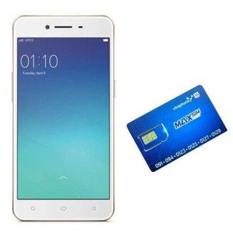 OPPO A37 - Neo9 16GB 2 Sim (Vàng) + Sim Vinaphone sinh viên - Hãng Phân phối chính thức