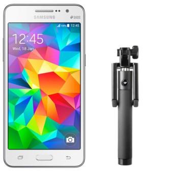 Samsung Galaxy Grand Prime G530 8GB (Trắng) - Hàng nhập khẩu + Gậy Chụp Hình