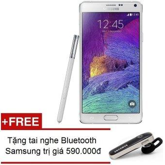 SamSung Galaxy Note 4 32Gb SM-N910 (Trắng) – Hàng nhập khẩu + Tặng Tai nghe Bluetooth Samsung