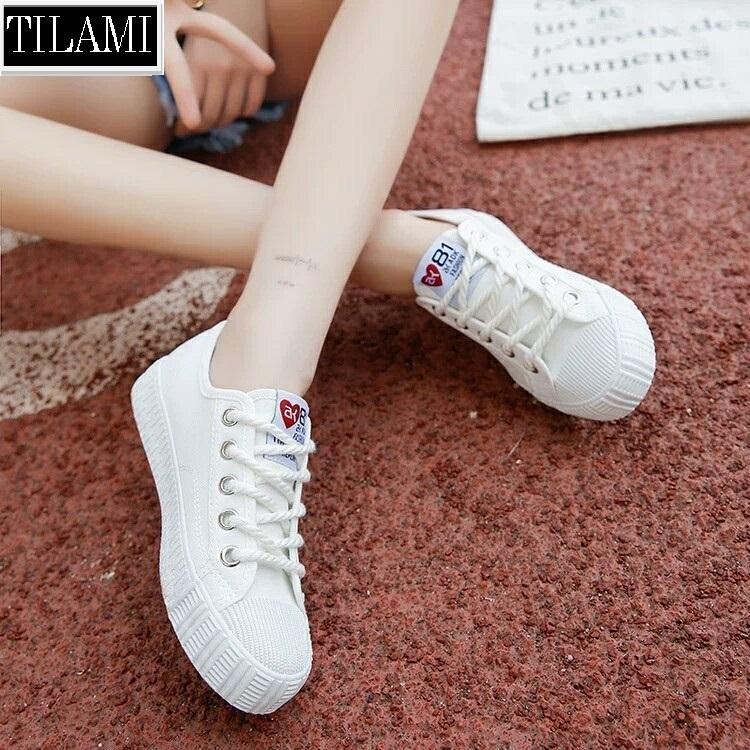 Bán Giay Sneaker Nữ 81 Fashion Tilami Đen Vang Trắng Rẻ Hà Nội