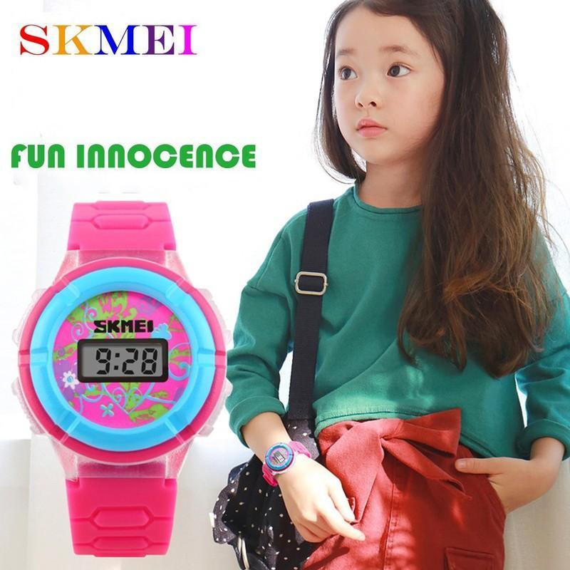 Đồng hồ trẻ em dành cho bé gái Skmei 1097 (màu hồng) bán chạy