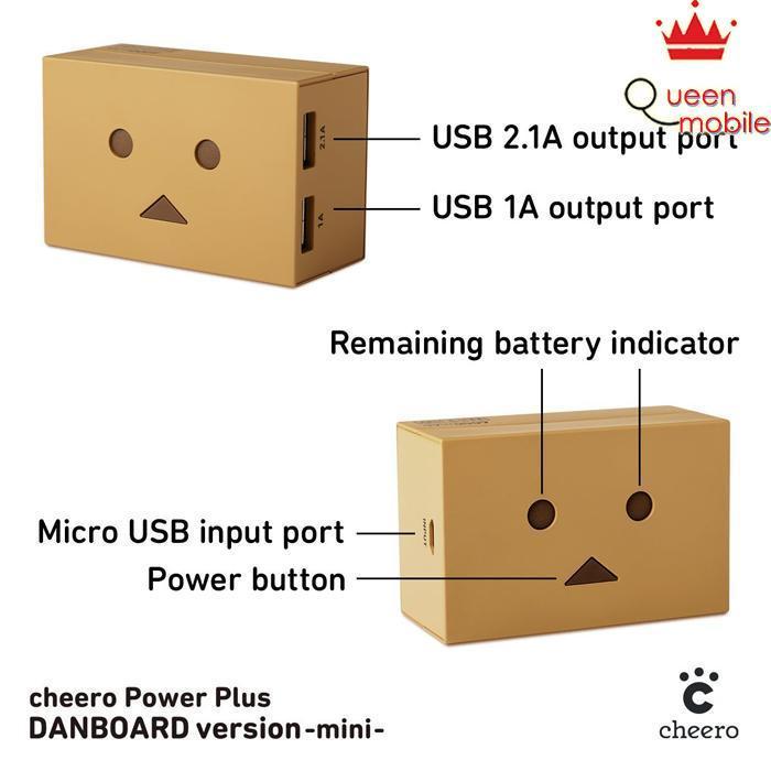Pin sạc dự phòng Nhật Bản bền đẹp cheero Power Plus DANBOARD CHE-047 (6000mAh) – Review và Đánh giá sản phẩm