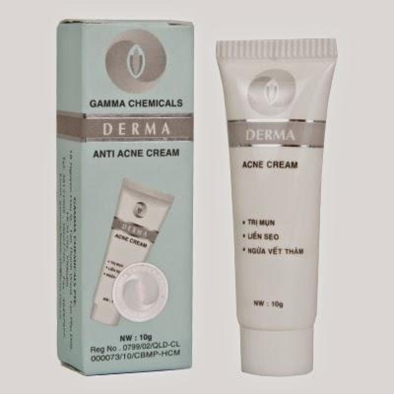 Bộ Gồm 2 Tube Derma Acness Cream Trị Mụn Liền Xẹo cao cấp