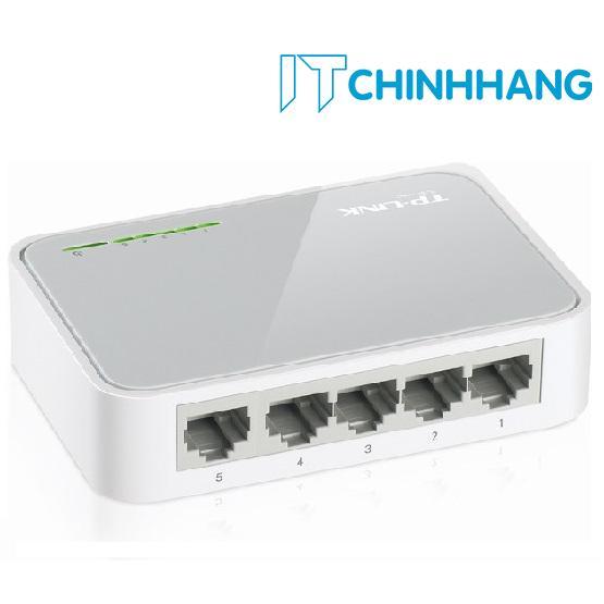 Hình ảnh Switch TP-Link TL-SF1005D 5 Port (Trắng) - HÃNG PHÂN PHỐI CHÍNH THỨC