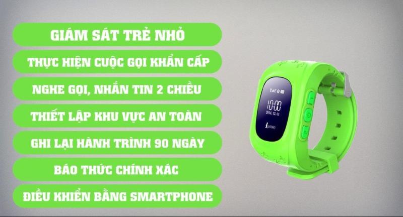 Đồng hồ định vị Đồng hồ thông minh cho bé, Đồng hồ chống nước cho trẻ em bán chạy