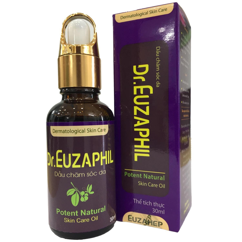 Hình ảnh Tinh dầu bôi ngoài da Dr. Euzaphil trị nấm da, viêm da, trị bỏng, côn trùng cắn 100ml