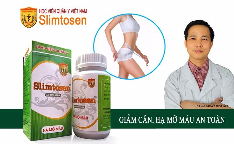 thuốc giảm cân slimtosen 4