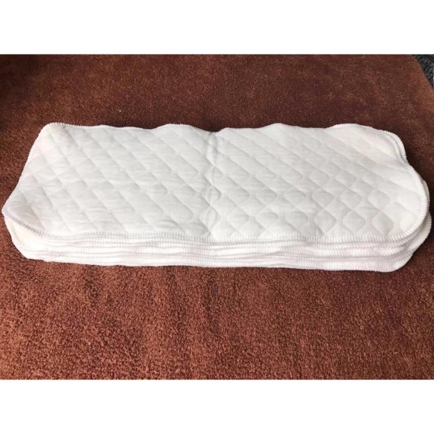 Combo 10 Miếng lót ngày và đêm 100% cotton ( dùng cho bỉm tã vải )