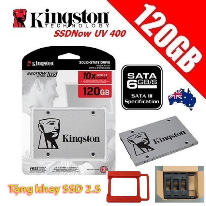Hình ảnh Ổ Cứng SSD Kingston UV400 120Gb Tặng Khay 2.5