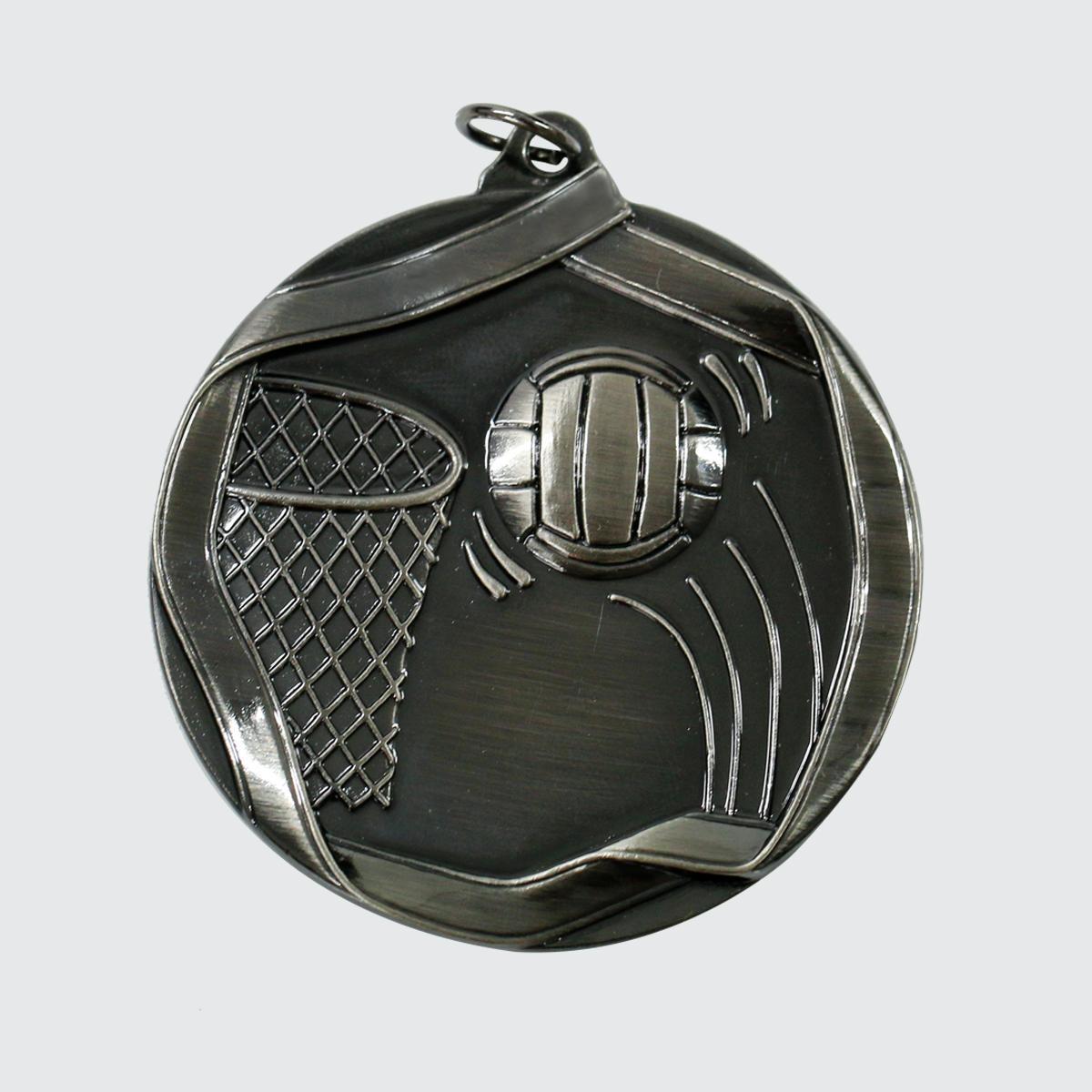 Hình ảnh Huy chương bóng rổ MS621AS 6cm (silver)