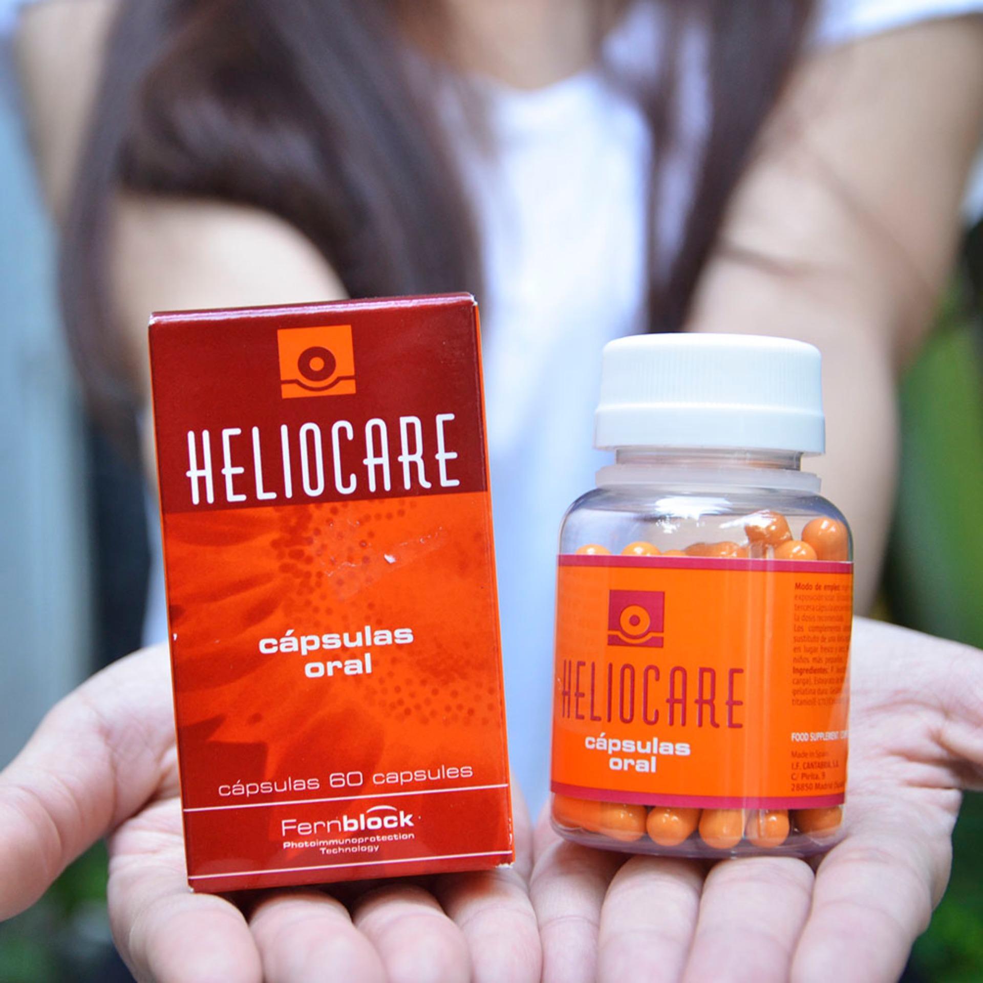 Viên uống chống nắng Heliocare Cápsulas Oral tốt nhất
