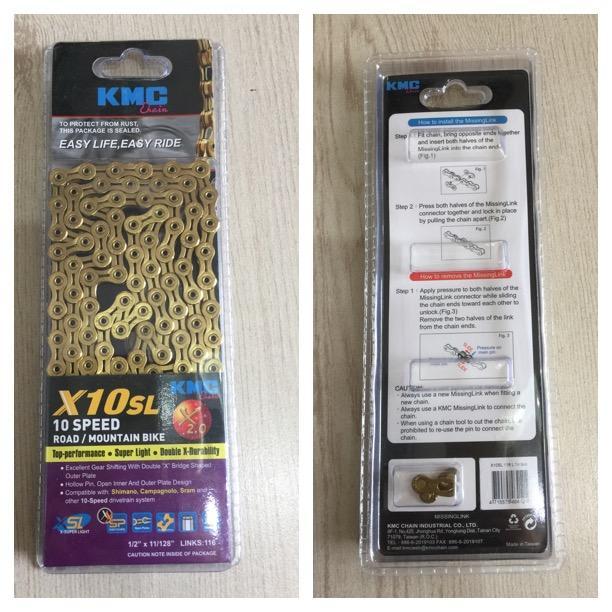 SÊN KMC X10SL Vàng