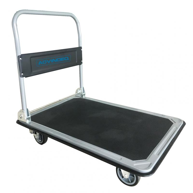Xe Đẩy Hàng 4 Bánh Sàn Thép ADVINDEQ TL-320
