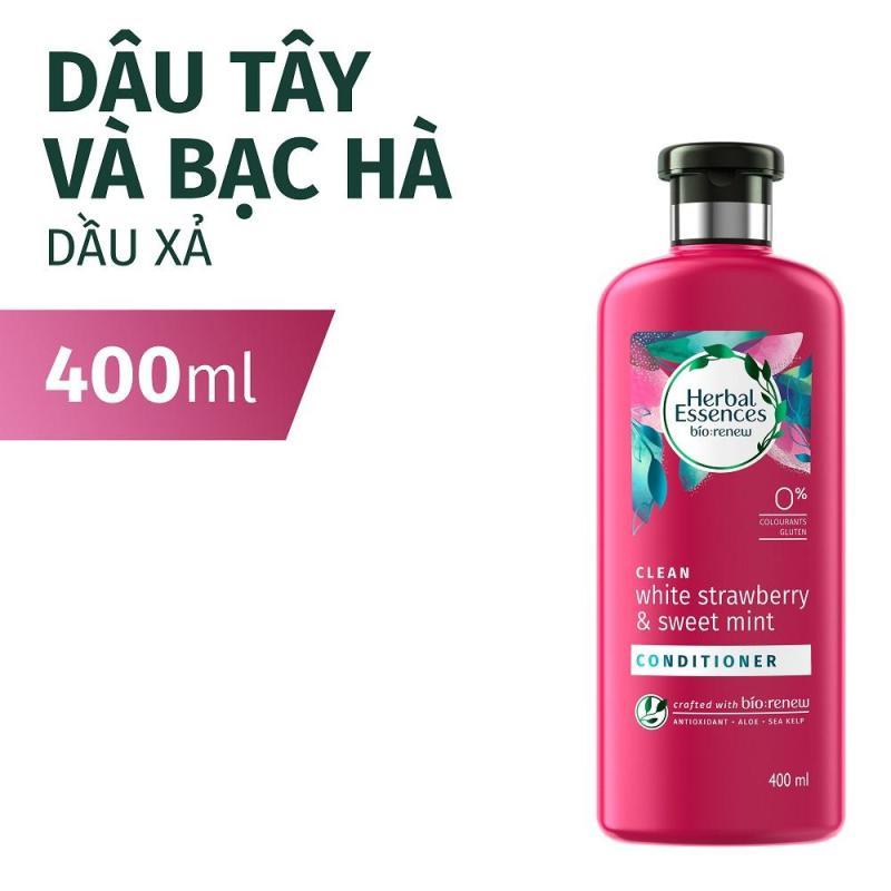 Dầu xả Herbal Essences Dâu tây & Bạc hà 400ml nhập khẩu