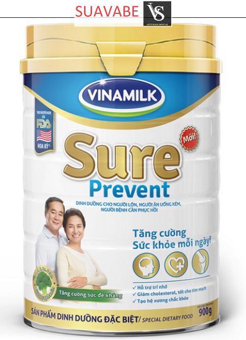 Bán Sữa Bột Vinamilk Sure Prevent 900G Hộp Thiếc Rẻ Bình Dương