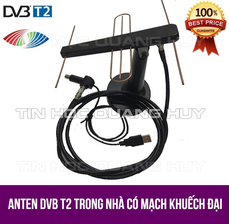 Hình ảnh Anten trong nhà DVB T2 có mạch khuếch đại tín hiệu