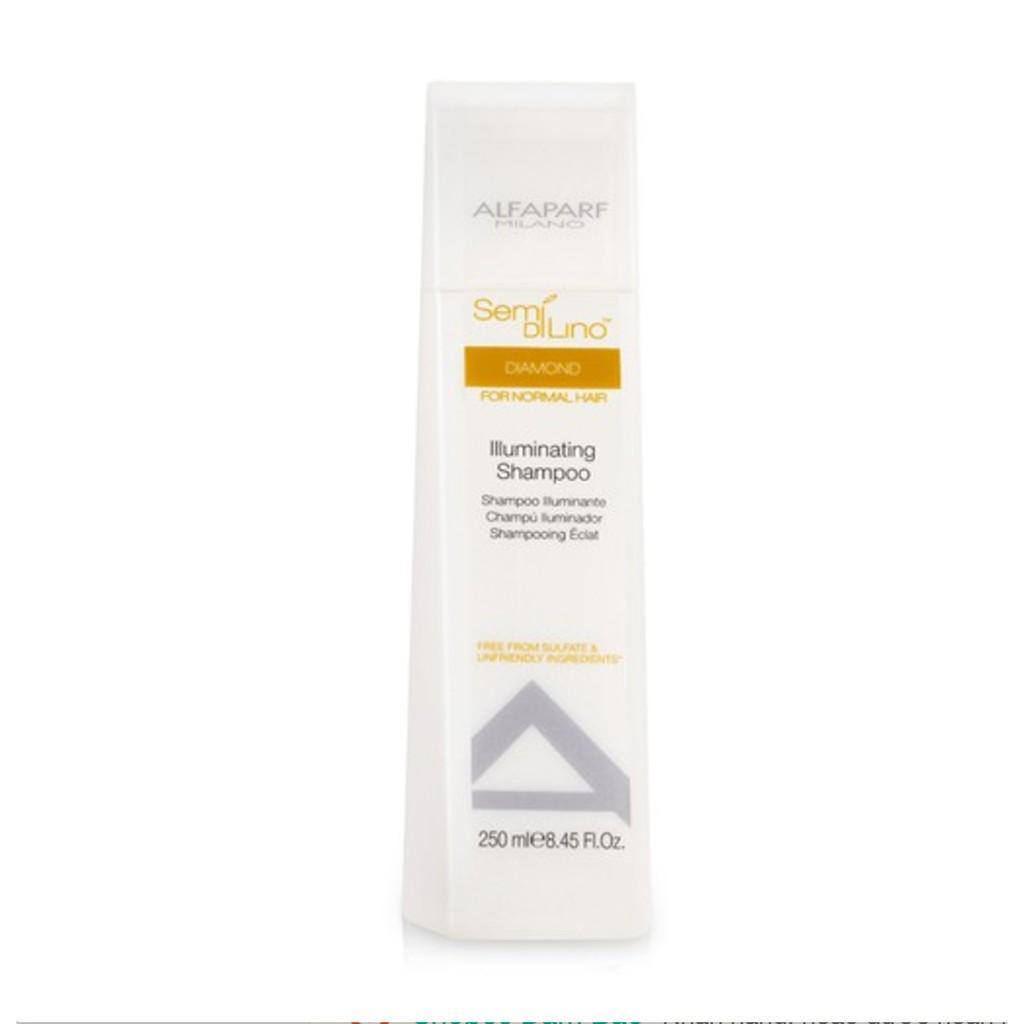 Hình ảnh Dầu gội chăm sóc tóc bóng mượt Alfaparf Milano Semi Dilino Diamond Illuminating Shampoo 250ml