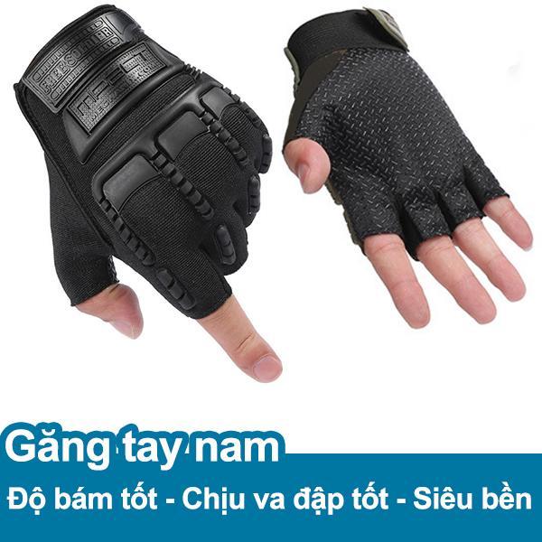 Hình ảnh Găng tay, bao tay nam cụt ngón bảo vệ mu bàn tay và tăng độ bám KRM9