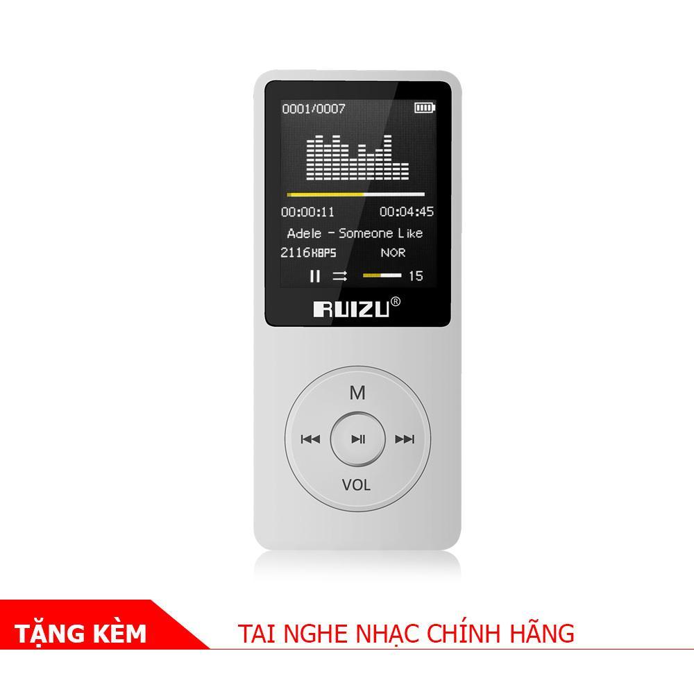 Hình ảnh Máy nghe nhạc MP3 RUIZU X02 [Hãng phân phối chính thức]