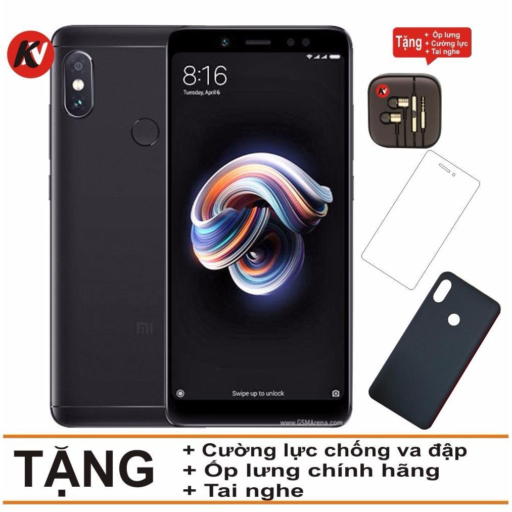 Mua Xiaomi Redmi Note 5 Pro 32Gb Ram 3Gb Khang Nhung Đen Hang Nhập Khẩu Ốp Lưng Cường Lực Tai Nghe Rẻ Hà Nội
