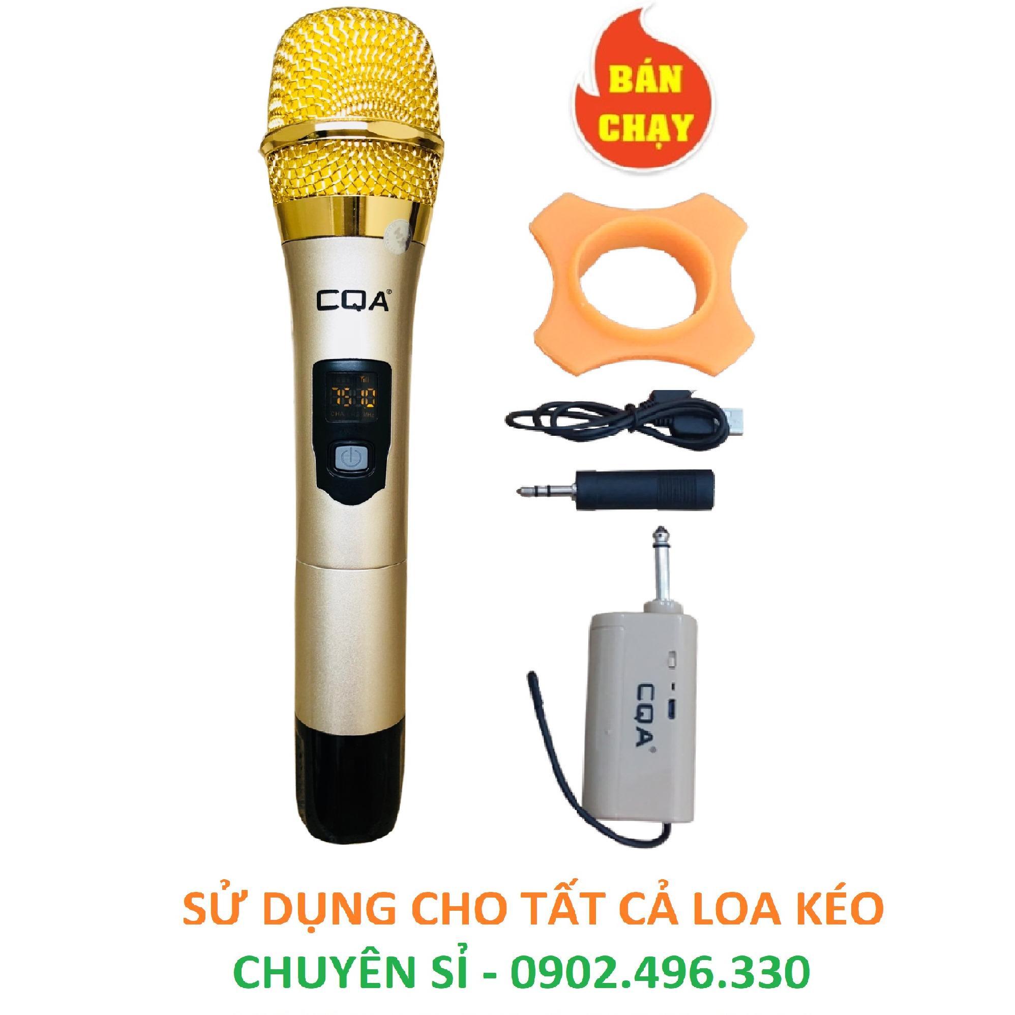 Mua Micro Đa Năng Khong Day Cqa Q 005 Hut Song Tốt Hat Cực Nhẹ Trực Tuyến Rẻ